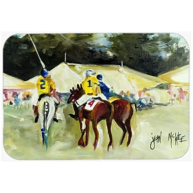 Caroline's Treasures Polo at the Point Glass Cutting Board