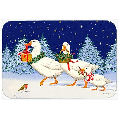 Caroline's Treasures Three Geese and Gifts Glass Cutting Board