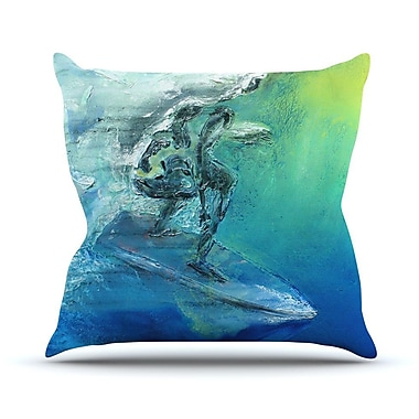 KESS InHouse September High Outdoor Throw Pillow