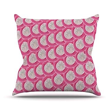 KESS InHouse Oho Boho Outdoor Throw Pillow