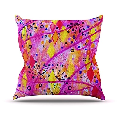 KESS InHouse Into the Fall 2 Outdoor Throw Pillow