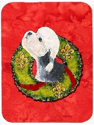 Caroline's Treasures Dandie Dinmont Terrier Glass Cutting Board
