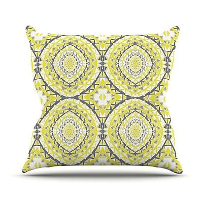 KESS InHouse Tessellation Outdoor Throw Pillow