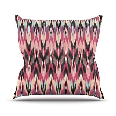 KESS InHouse Dreamhaze Tribal Outdoor Throw Pillow