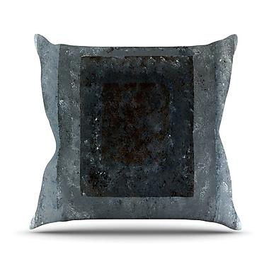 KESS InHouse Art Box Outdoor Throw Pillow