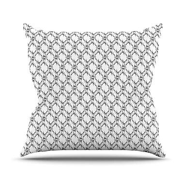 KESS InHouse Deer Deer Outdoor Throw Pillow