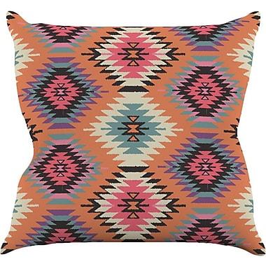 KESS InHouse Southwestern Dreams by Amanda Lane Throw Pillow; 16'' H x 16'' W x 1'' D
