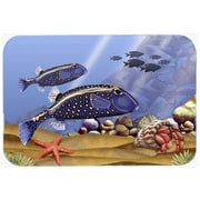 Caroline's Treasures Undersea Fantasy 8 Glass Cutting Board
