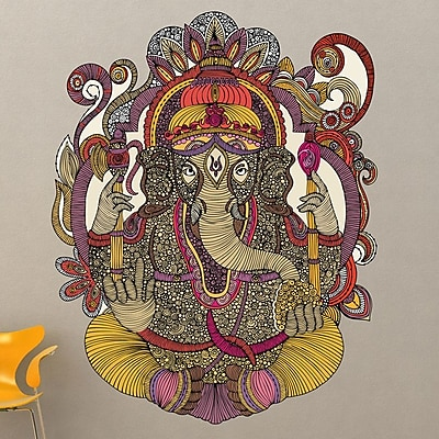 My Wonderful Walls Ganesha by Valentina Harper Wall Decal; Small