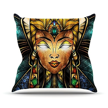 KESS InHouse Nefertari Outdoor Throw Pillow