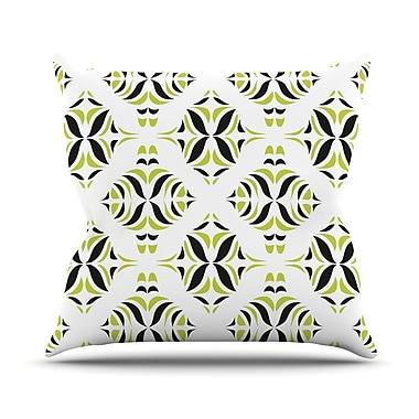 KESS InHouse Rainforest Outdoor Throw Pillow