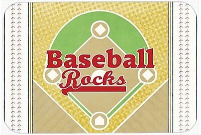 Caroline's Treasures Baseball Rules Glass Cutting Board