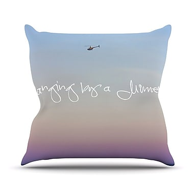 KESS InHouse Hanging By A Moment Outdoor Throw Pillow
