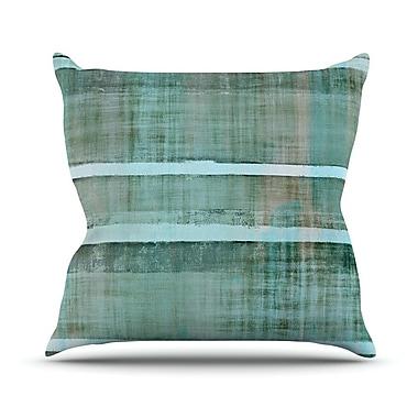 KESS InHouse Line Up Outdoor Throw Pillow