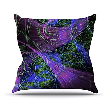 KESS InHouse Feather Outdoor Throw Pillow
