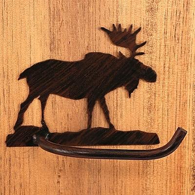 Coast Lamp Mfg. Moose Wall Mounted Toilet Paper Holder