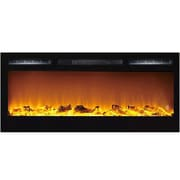 Moda Flame Cynergy Log Built-In Wall Mount Electric Fireplace
