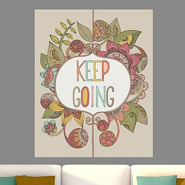 My Wonderful Walls Keep Going by Valentina Harper Wall Decal; Extra Large