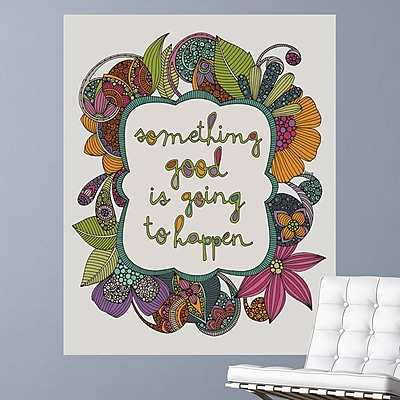 My Wonderful Walls Something Good is Going to Happen by Valentina Harper Wall Decal; Small