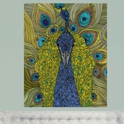 My Wonderful Walls Mr. Pavo Real by Valentina Harper Wall Decal; Extra Large