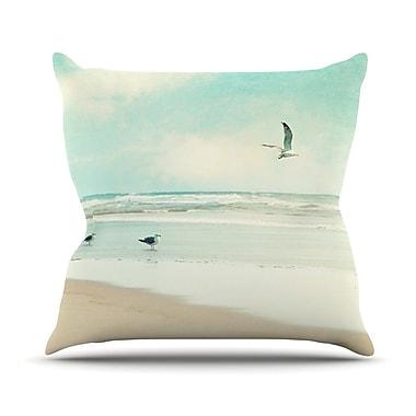 KESS InHouse Away We Go Outdoor Throw Pillow