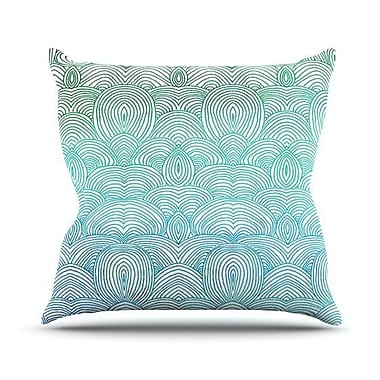 KESS InHouse Clouds in the Sky Outdoor Throw Pillow