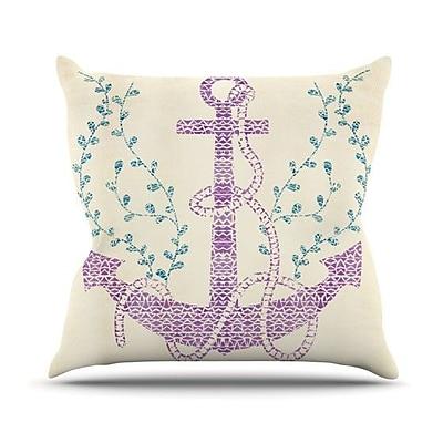 KESS InHouse Tribal Nautica II Outdoor Throw Pillow