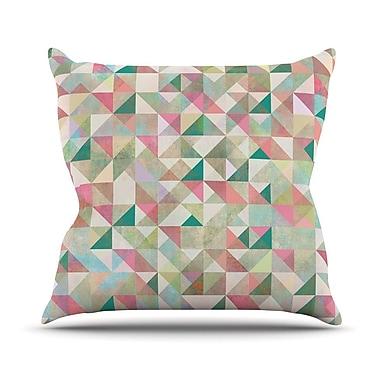 KESS InHouse Graphic 75 Outdoor Throw Pillow