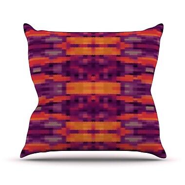 KESS InHouse Medeaquilt Outdoor Throw Pillow