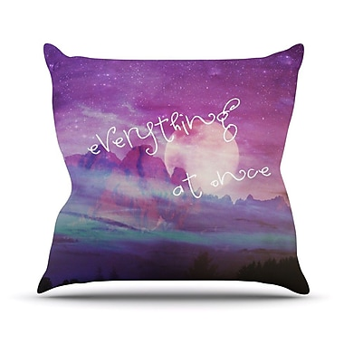 KESS InHouse Everything at Once Outdoor Throw Pillow