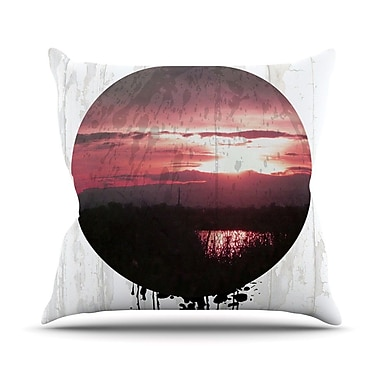 KESS InHouse Valley Outdoor Throw Pillow