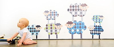 Pop & Lolli Shy Sheepies Wall Decal