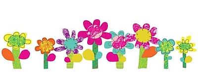 Pop & Lolli Fresh Flowers Wall Decal