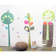 Pop & Lolli Three Towering Trees Wall Decal