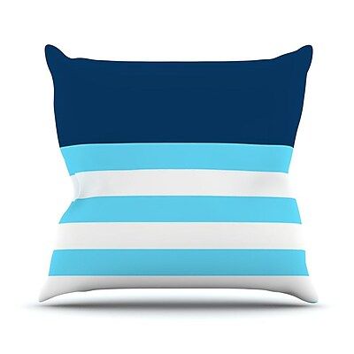 KESS InHouse Nauticki Outdoor Throw Pillow