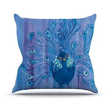 KESS InHouse Little Master Outdoor Throw Pillow
