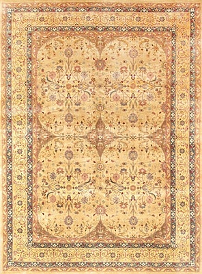 Pasargad Tabriz Hand-Knotted Camel Area Rug