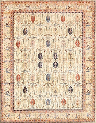 Pasargad Bakhshayesh Hand-Knotted Beige/Gold Area Rug