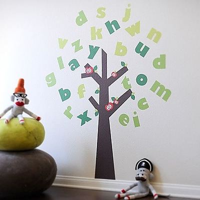 Pop & Lolli Tree of Knowledge Wall Decal WYF078278745322