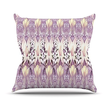 KESS InHouse Laurel 85 Outdoor Throw Pillow