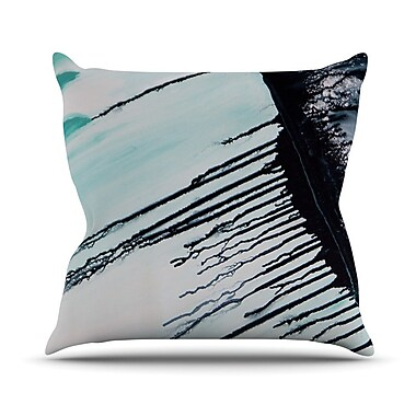 KESS InHouse Extractions Outdoor Throw Pillow