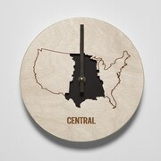 Reed Wilson Design 8'' Central Time Zone Clock