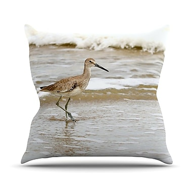 KESS InHouse Counting the Waves Outdoor Throw Pillow