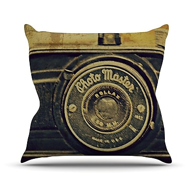 KESS InHouse Discarded Treasure Outdoor Throw Pillow