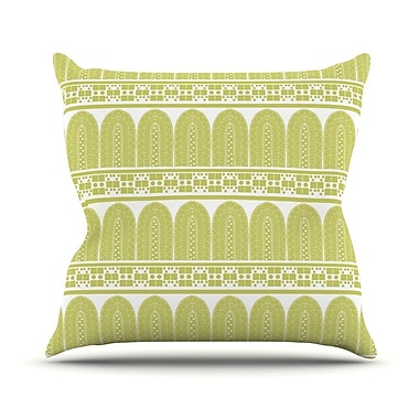 KESS InHouse Tribal Outdoor Throw Pillow