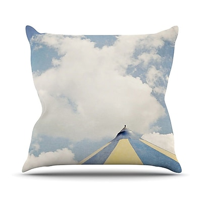 KESS InHouse Carnival Tent Outdoor Throw Pillow