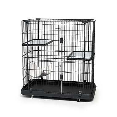 Prevue Hendryx Cat Crate w/ 3 Level