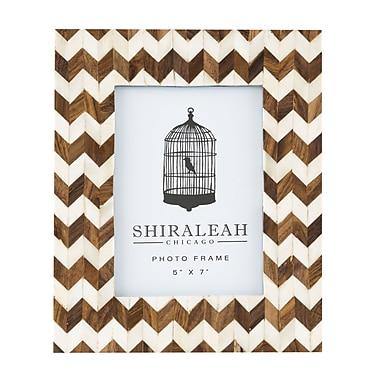 Shiraleah Boheme Chevron Picture Frame