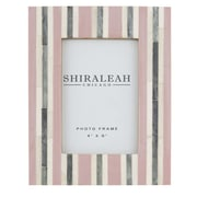 Shiraleah Griggio Stripped Picture Frame