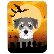 Caroline's Treasures Halloween Schnauzer Glass Cutting Board